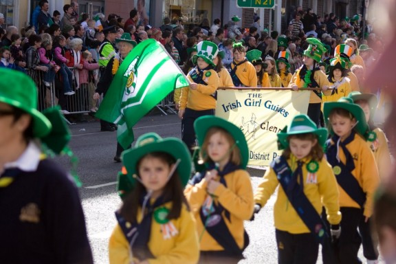 St. Patrick's Day parade in Limerick 2009.
